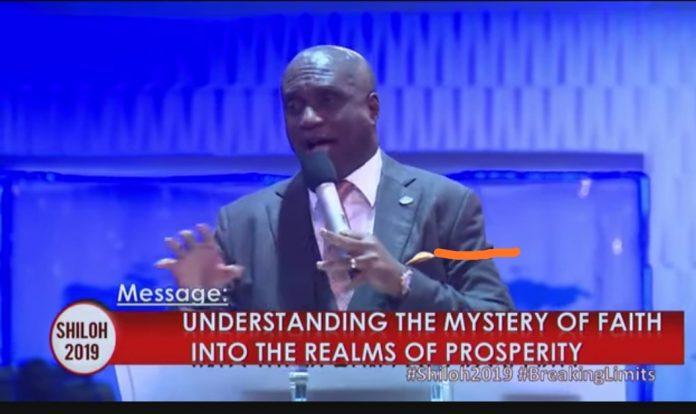 David Ibiyeomie messages - shiloh 2019