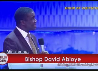 SHILOH 2019 BISHOP DAVID ABIOYE